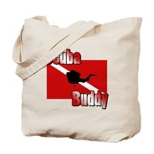 Scuba Buddy Tote Bag