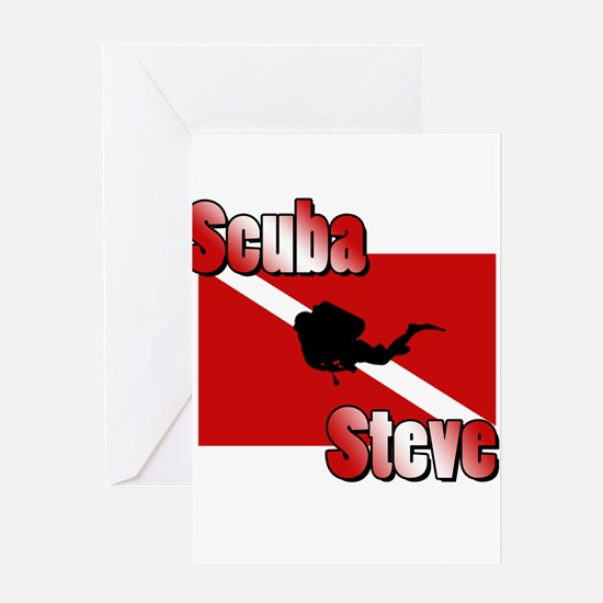 Scuba Steve Greeting Card