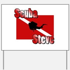 Scuba Steve Yard Sign