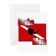Scuba Mom Greeting Card