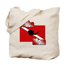 Scuba Mom Tote Bag