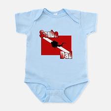 Scuba Dad Infant Bodysuit