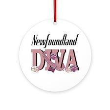 Newfoundland DIVA Ornament (Round)