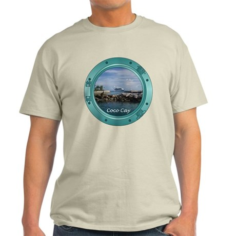 Coco Cay Cruise Ship Light T-Shirt
