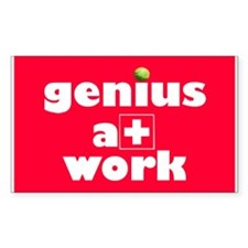 geniusatwork Decal