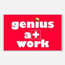 geniusatwork Decal