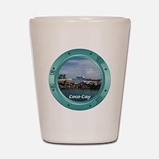 Coco Cay Cruise Ship Shot Glass