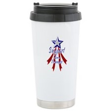 Support the Troops Travel Mug