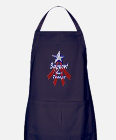 Support the Troops Apron (dark)