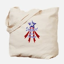Support the Troops Tote Bag