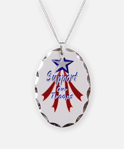 Support the Troops Necklace