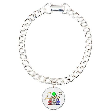 Lucky Winner Charm Bracelet, One Charm