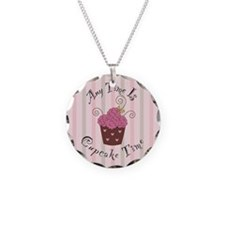 Any Time Is Cupcake Time Necklace