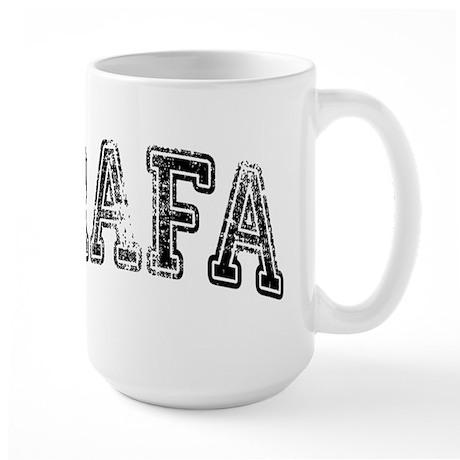 RAFA Grunge Large Mug