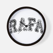 RAFA Grunge Wall Clock