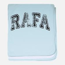 RAFA Grunge baby blanket