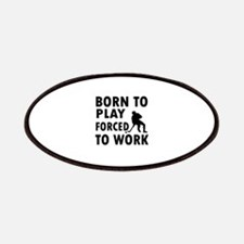 Born to play Hockey Patches