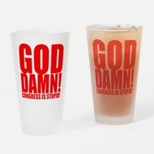 Congress is Stupid Drinking Glass