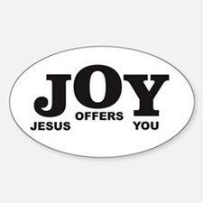 Jesus offers you step Decal
