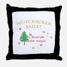 Nutcracker Ballet 2011 Throw Pillow