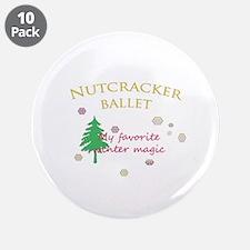 "Nutcracker Ballet 2011 3.5"" Button (10 pack)"