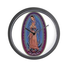 12 Lady of Guadalupe Wall Clock