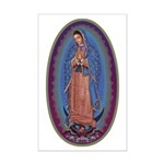 12 Lady of Guadalupe Mini Poster Print