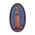 12 Lady of Guadalupe Sticker (Rectangle 10 pk)
