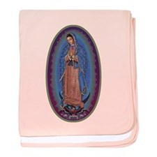 12 Lady of Guadalupe baby blanket