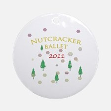 Nutcracker Ballet 2011 Ornament (Round)