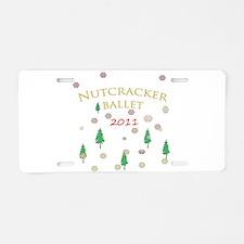 Nutcracker Ballet 2011 Aluminum License Plate