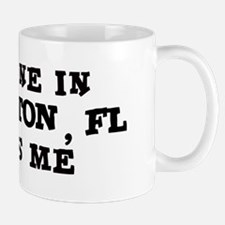 Someone in Boca Raton Mug