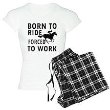 Born to Horse Riding Pajamas