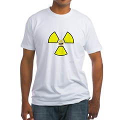 Nuclear Happy Fitted T-Shirt