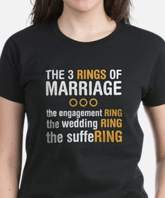 3 Rigns of Marriage Tee