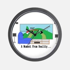A moment From Reality Wall Clock