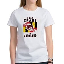 I Got Crabs in Maryland Tee