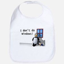 I Don't Do Windows Bib