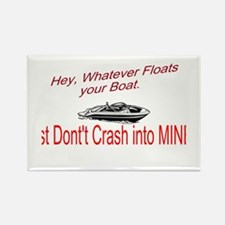 Float your Boat Rectangle Magnet