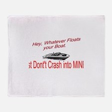 Float your Boat Throw Blanket