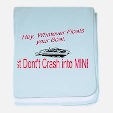 Float your Boat baby blanket