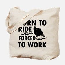Born to Ride Snowmobile Tote Bag