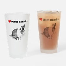 Dutch Bunny Drinking Glass