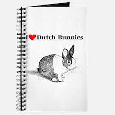 Dutch Bunny Journal