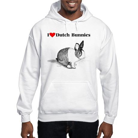 Dutch Bunny Hooded Sweatshirt