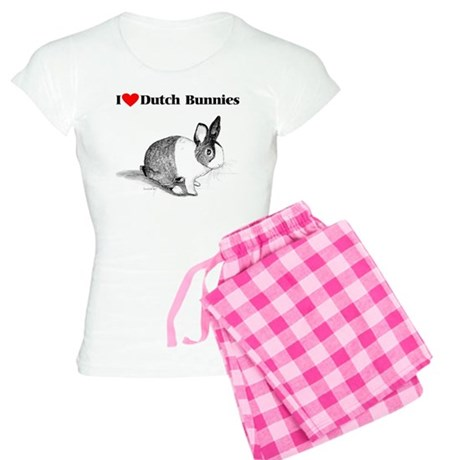 Dutch Bunny Women's Light Pajamas
