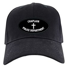 Police Chaplain Baseball Hat 2