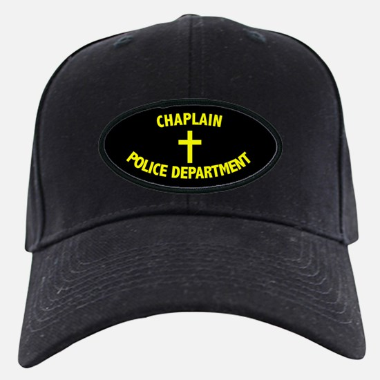 Police Chaplain Black Cap 3