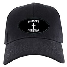 Christian Minister Baseball Hat 2