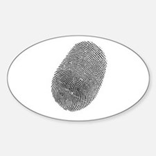 Fingerprint Vinyl Decal